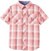 Buffalo Plaid Woven Shirt (Kid) - Rustic Red-4