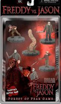 Freddy NECA vs. Jason Forest of Gear 3D Miniatures Game Collector's Edition