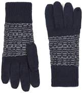 Topman Navy And Gray Gloves