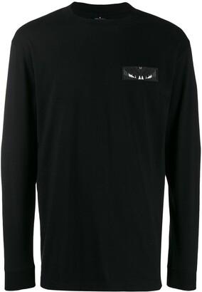 Marcelo Burlon County of Milan Wings patch longsleeve T-shirt