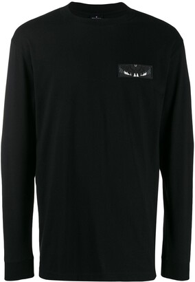 Marcelo Burlon County of Milan Wings patch longsleeve T-shirt