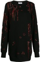Faith Connexion chain-embellished jumper
