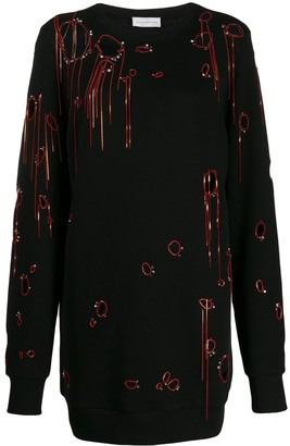 Faith Connexion chain-embellished jumper