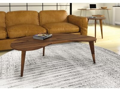 Thumbnail for your product : Copeland Furniture Essentials Kidney Shaped Coffee Table Color: Natural Walnut