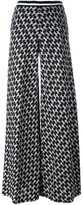 Missoni palazzo pants - women - Wool - 38