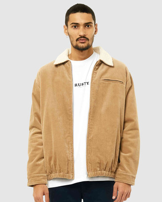 Rusty Men's Jackets - Coup Cord Jacket - Size One Size, S at The Iconic