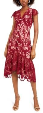 Foxiedox Ellington Lace Midi Dress