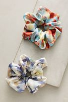 Anthropologie Spring Scrunchie Set