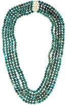 Elizabeth Showers Amazonite Multistrand Necklace