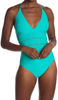 Athena Solid One Piece Swimsuit