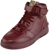 Valentino Men's High-Top Leather Sneaker