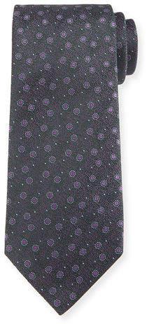 Charvet Textured Bean Silk Tie