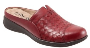 SoftWalk San Marcos Woven Slip-on Mules Women's Shoes