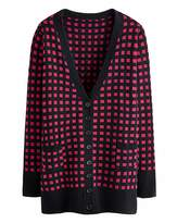 Fashion World Jacquard Boyfriend Cardigan