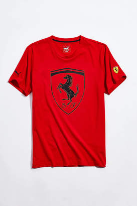 Puma Ferrari Fanwear Big Shield Tee