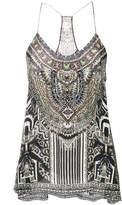 Camilla tribal print top