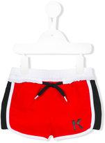 Karl Lagerfeld logo swim shorts - kids - Polyester - 24 mth