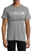 True Religion Fading Logo Graphic T-Shirt, Gray