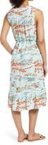 Thumbnail for your product : BeachLunchLounge Lou Lou Belted Sleeveless Shift Dress
