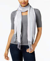 Collection XIIX Woven Fringe Scarf