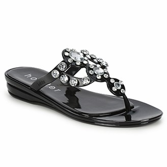 Holster Cinderella Jelly Sandal women's Flip flops / Sandals (Shoes) in Black