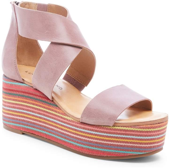 Gwindolin Platform Wedge Sandal