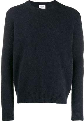 Dondup textured crew neck sweater