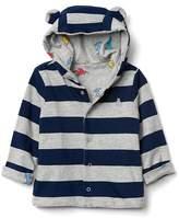 Gap Reversible bear snap hoodie