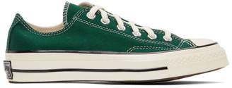 Converse Green Chuck 70 OX Sneakers