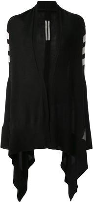 Rick Owens Stripe Detail Sleeve Jacket
