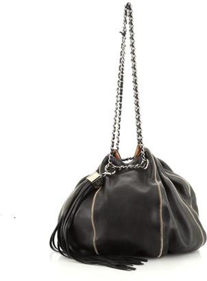 Chanel Vintage Sac Cordon Shoulder Bag Lambskin Medium