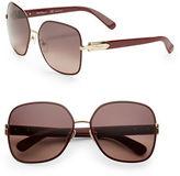 Salvatore Ferragamo 59mm Square Sunglasses