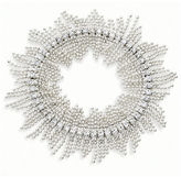 JCPenney Vieste Rosa Vieste Fringed Stretch Bracelet