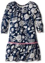 Hatley Pom Pom Dress - Field Flowers Silhouette (Toddler/Little Kids/Big Kids)