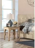 Hillsdale Furniture Keegan Distressed Antique White End Table