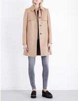 French Connection Platform cashmere-blend coat
