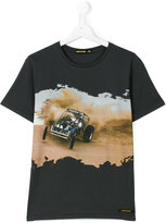Finger In The Nose car print T-shirt - kids - Cotton - 14 yrs
