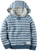 Carter's Baby Boy Striped French Terry Hoodie