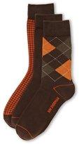 Ben Sherman 3-Pack Assorted Pattern Socks