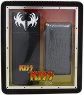 SIK KISS HIM by Kiss Gift Set for MEN: COLOGNE SPRAY 3.4 OZ & DR LOVE BODY BAR (SOAP) 10 OZ