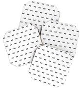 DENY Designs Social Proper Bows Bows Bows Coaster Set