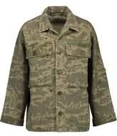 Current/Elliott Printed Denim Jacket