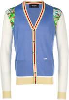 DSQUARED2 colour block cardigan