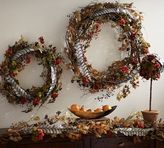 Pottery Barn Autumn Berry Garland & Topiary