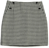 Des Petits Hauts Roby Checked Skirt