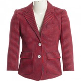 Band Of Outsiders Red Cotton Jacket for Women