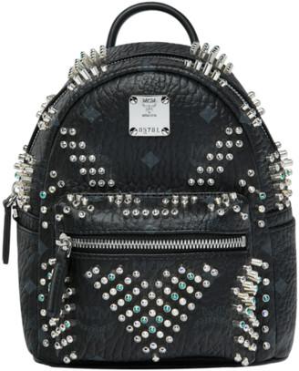 MCM Stark Bebe Boo Backpack in Graded M Studs