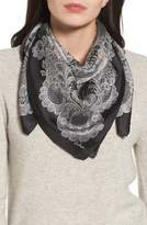 Echo Camden Lace Square Silk Scarf