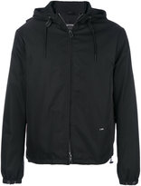 Emporio Armani zipped hooded jacket