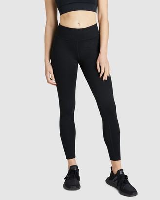 Rockwear - Women's Black Tights - Pocket Full Length Tights - Size One Size, 14 at The Iconic
